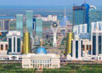 Нас встречает Астана
