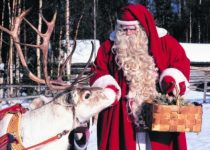 Финский Дед Мороз – Йоулупукки (Рождественский козёл, 10 фото)