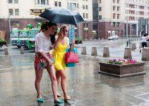 «Удивительная» погода в Москве
